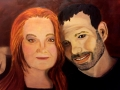 PORTRAIT OF JEFF & LINDA CREEK