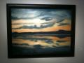 SUNSET OVER LAKE GADSDEN
