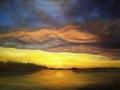 LAKE GADSDEN AT SUNSET